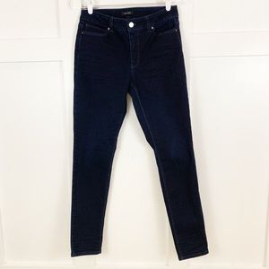 White House Black Market Dark Wash Skinny Jeans
